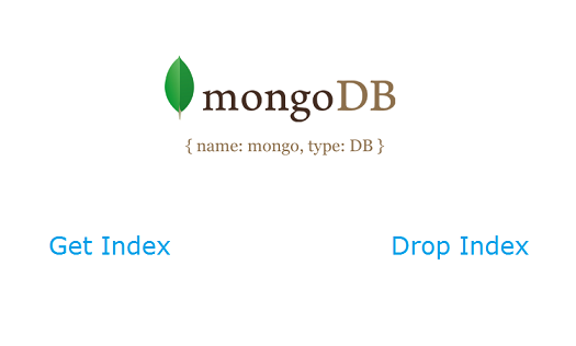 getIndex dropIndex mongodb Get Index and Delete Index: MongoDB